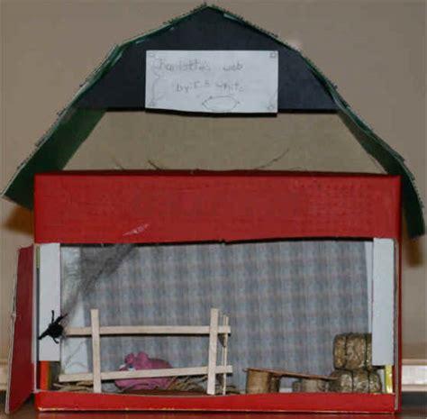 Hip Roof Shape Example Diorama Charlotte S Web