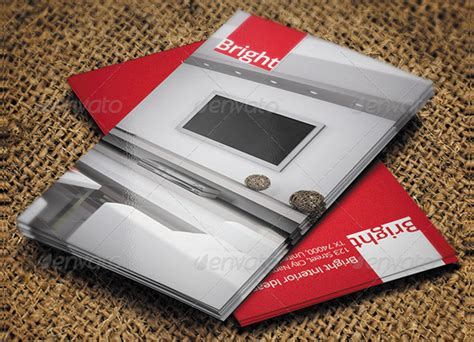 Business Card Template Interior Design by 21 Interior Designer Business Card Designs Free