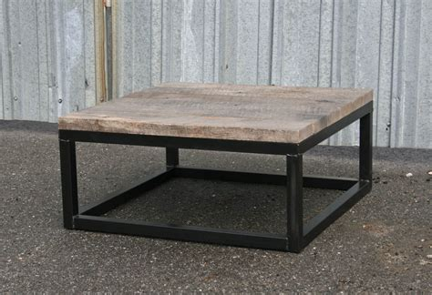 Reclaimed Coffee Tables Combine 9 Industrial Furniture Reclaimed Wood Coffee Table