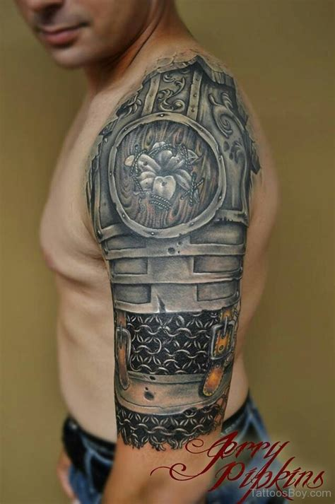 awesome half sleeve tattoos 60 wonderful armor tattoos