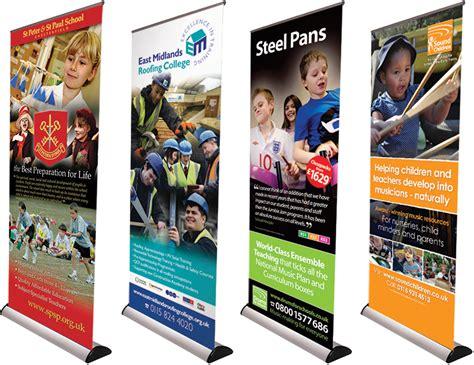 design large banner andrew burdett design roller banner design pop up production