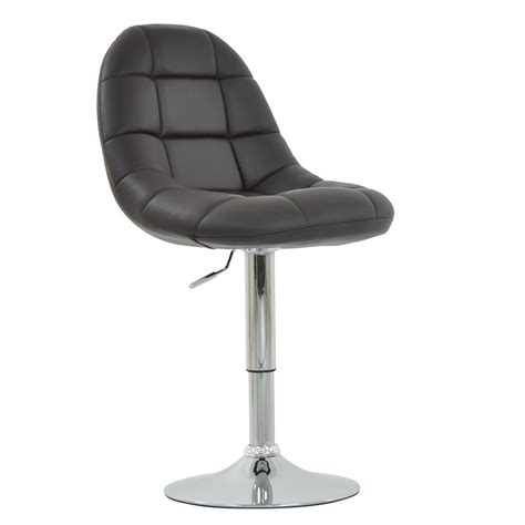 Leather Swivel Dining Chairs Montrose Faux Leather Padded Swivel Office Dining Chair Ebay