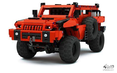 armored hummer top gear lego technic mrap marauder most advanced roader