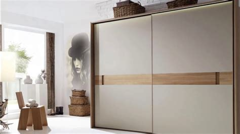 sliding wardrobe designs  bedroom indian youtube