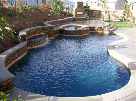 Small Backyard With Pool Landscaping Ideas 17 Refreshing Ideas Of Small Backyard Pool Design