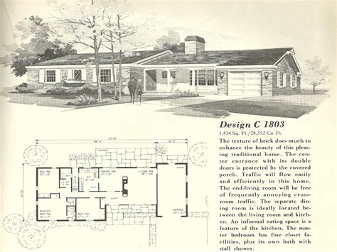 1960s ranch house plans 1960s ranch house floor plans updating 1960s ranch style