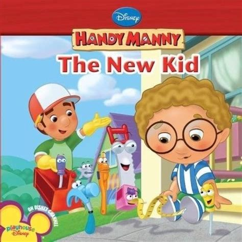 the new kid books disney handy manny the new kid board book new