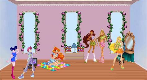 winx club doll house winx doll house winx in house the winx club photo 24488155 fanpop