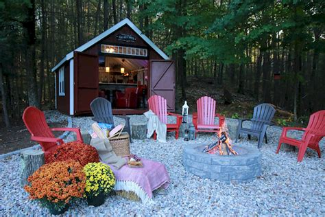 Easy And Cheap Fire Pit And Backyard Landscaping Ideas 1 Cheap And Easy Backyard Ideas
