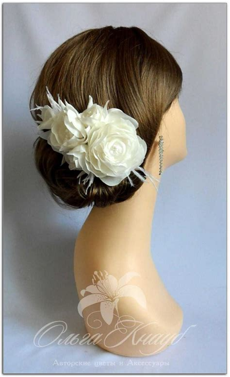 Wedding Hair Accessories Birdcage Veil by Wedding Hair Accessories Flower Headpiece Wedding Hair
