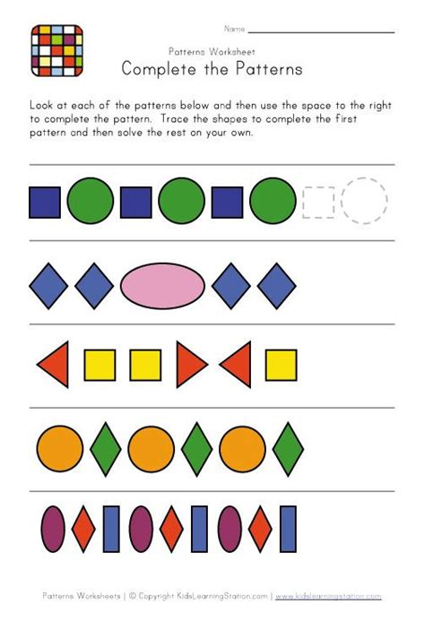 episodes pattern language 20 best images about preschool worksheets on pinterest