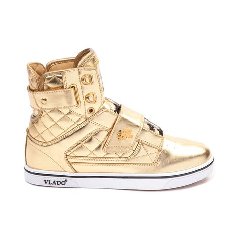 gold athletic shoes reasonable price vlado atlas ii gold white athletic