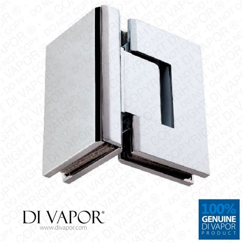 Shower Door Hinge Replacement 90 Degree Glass To Glass Shower Door Hinge Chrome Plated Solid Copper Square Edges