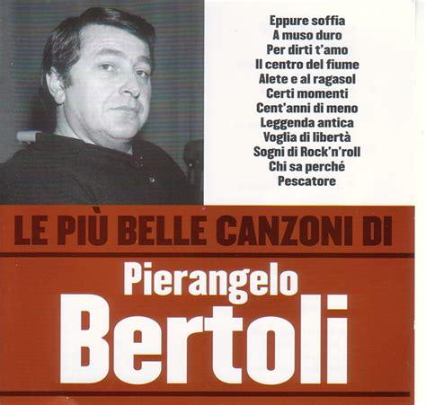 bertoli fans club partecipazioni c sito ufficiale pierangelo bertoli novit 224 di novembre 2006