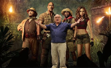 filme schauen jumanji welcome to the jungle sequel danny devito and awkwafina join jumanji sequel film news