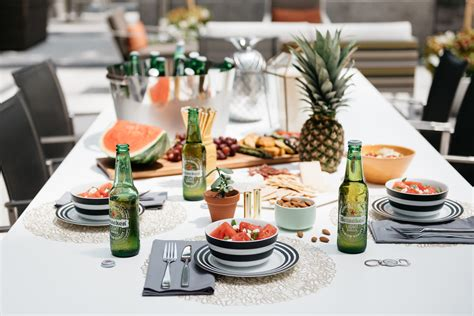 host a dinner party how to host a healthy outdoor dinner party