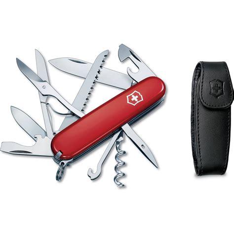 victorinox pocket knife victorinox huntsman pocket knife with pouch 56820 b h photo