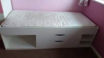 Shorty Beds Cabin by Cabin Shorty Bed With Storage White Bed With Mattress