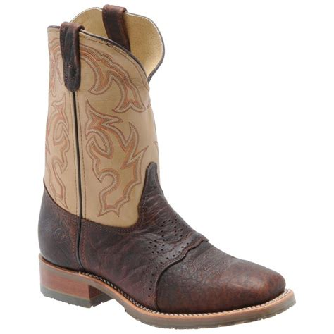 s h boots 174 steel wide square toe ice roper