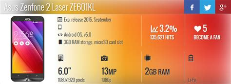 Handphone Asus Zenfone 2 Laser Seri Z00rd 2gb 16gb Murah 1 review handphone terbaru info ponsel asus zenfone 2 laser