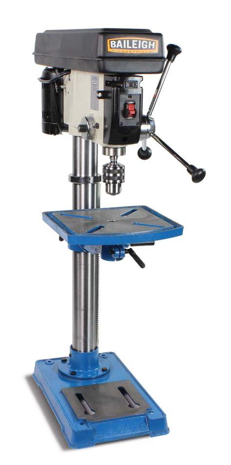 bench top drill press bp 1512b baileigh industrial