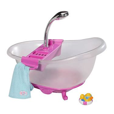 baby born doll bathtub baby born interactive bath tub the entertainer the