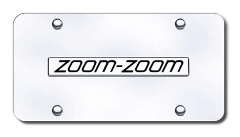 28+ [license plate frame w zoom zoom logo mazda 0000 83 z03]