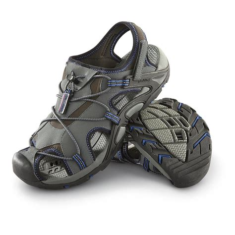 navy mens sandals s mountrek 174 hydroactiv charlton water sandals gray