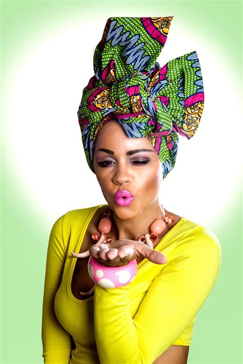african head wraps on pinterest turbans style and vibrant green pink african print head wrap