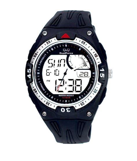 Qq Gw86j003y Manblack Analog Digital q q analog digital black s gw78j002y price in india buy q q analog digital