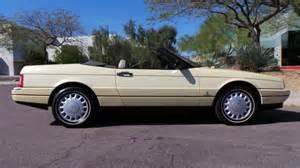 88 Cadillac Allante Buy Used 1993 Cadillac Allante Roadster 4 6l Northstar