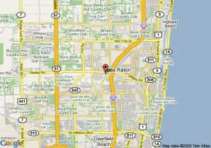 map boca raton florida map of renaissance boca raton boca raton