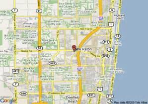 where is boca raton on the florida map map of renaissance boca raton boca raton