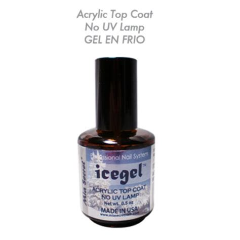 Nylias Acrylic Top Coat Ice Gel No Uv L