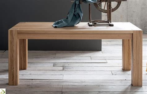tavolo moderno in legno wooden modern table arredo design