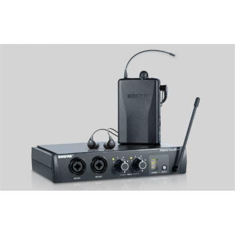Harga Ear Monitor Shure Psm 200 shure psm200 in ear monitoring system at promenade