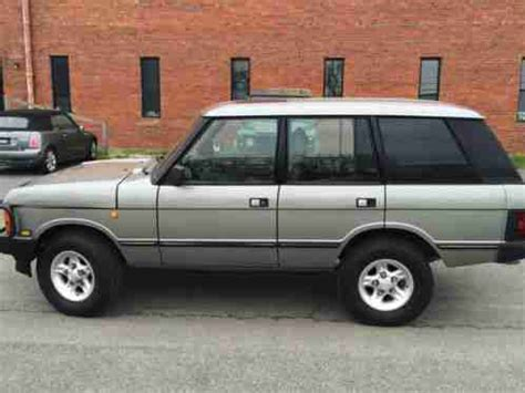 transmission control 1991 land rover range rover instrument cluster land rover range rover 1991 very clean 91 classic 132 miles