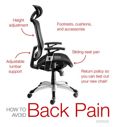 best portable chair for bad backs office chairs for back staples canada