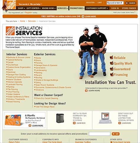 Interior Shutters Home Depot by Home Depot Installation Services