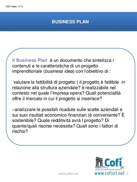 business esempio business plan
