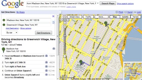 printable maps with directions free more options for printing directions in google maps
