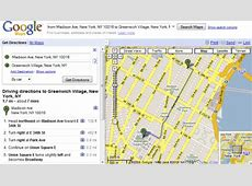 More Options for Printing Directions in Google Maps Mapquest Driving Distances Google