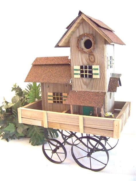 whimsical western bird house backwater studio fun funky