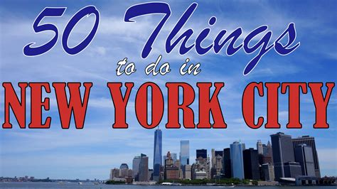 York City Attractions Essay by 50 Things To Do In New York City