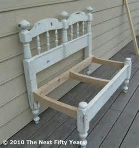 headboard bench craft ideas