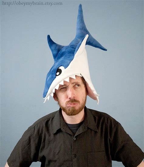 How To Make A Paper Shark Hat - 15 cool shark inspired products