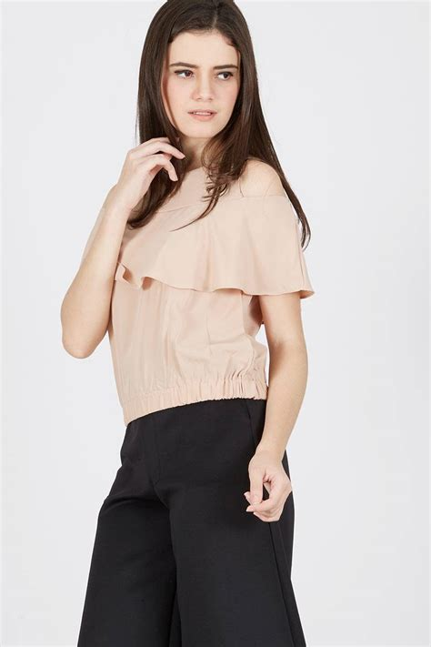 Welin White Blouse Baju Blus Sabrina Atasan Fashion sell bernaille top blouse berrybenka