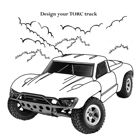 free coloring pages of rc