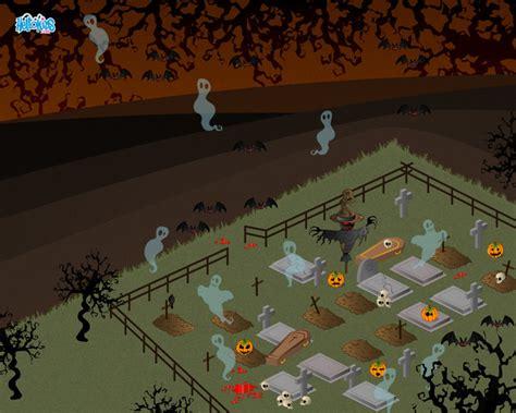 fondo de pantalla de calabaza castillo cementerio aprender a dibujar cementerio hechizado es hellokids com