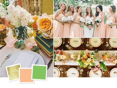 wedding color combos 1000 images about wedding palettes on wedding